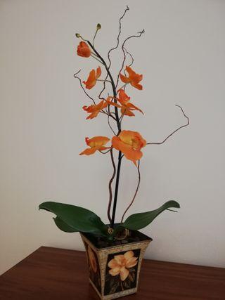 Orquídea artificial de calidad