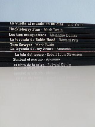 Pack de 9 libros