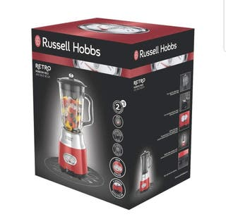 Russell Hobbs Retro - Batidora vaso 800 W