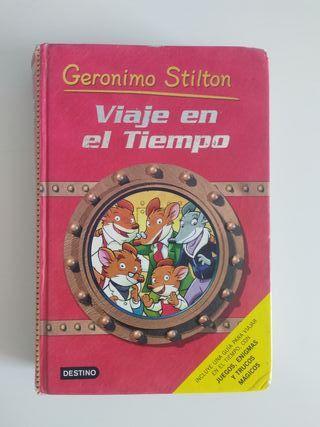 """Libro Geronimo Stilton """" Viaje en el tiempo"""""""
