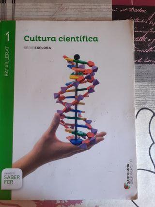 Libro Cultura Científica 1o bachillerato