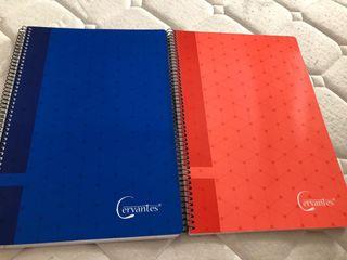 cuadernos nuevos