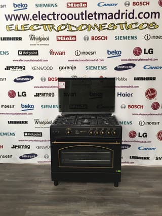 Cocina de gas butano rústica