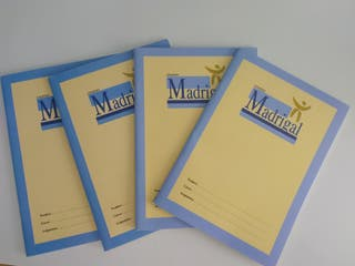 Pack 4 Cuadernillos Madrigal