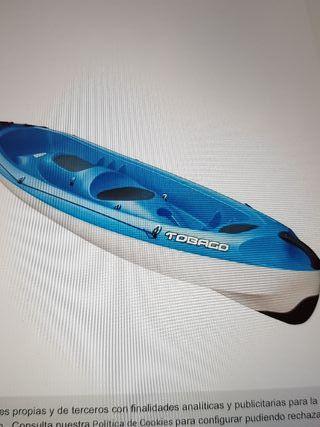 piragua canoa bic rígida 3p