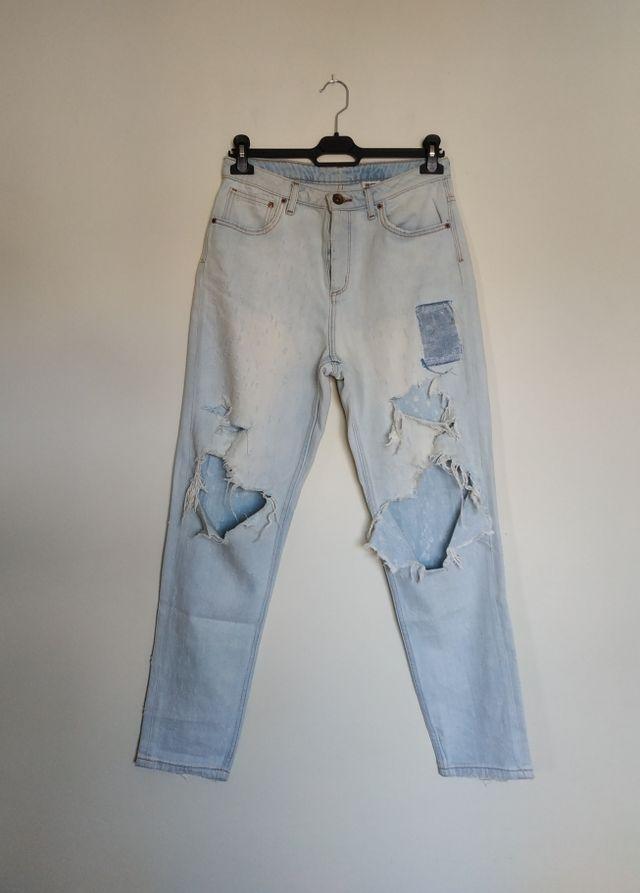 Mom Jeans Rotos H Amp M 40 De Segunda Mano Por 6 En Alcabre En Wallapop