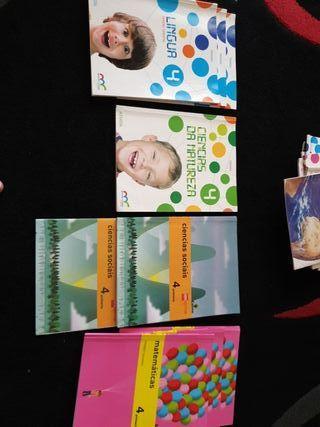 libros 4°de primaria