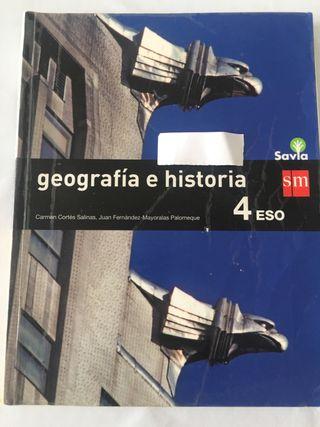 Geografía e historia 4 eso sm 9788467586954