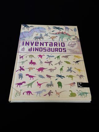 Libro ilustrado de Dinosaurios (portugués)