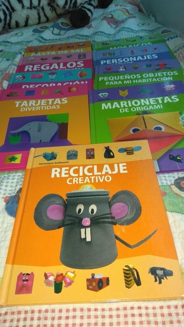 Libros de manualidades.