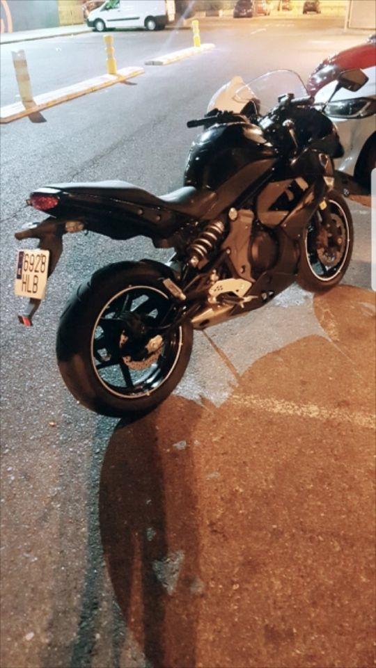 Kawasaki er6f 2012 ABS