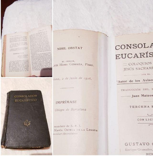 Misales antiguos libro religion 1945