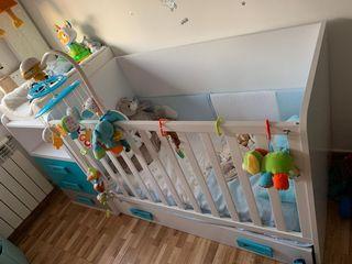 habitación infantil madera maciza