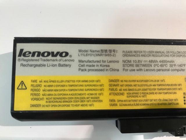 Batería portátil Lenovo