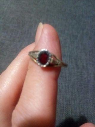 anillo antiguo de plata