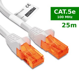 Cables red ethernet cat5 25 metros
