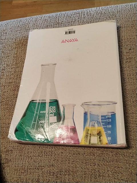 Libro fisica y quimica Anaya