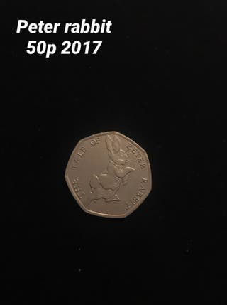 Peter rabbit 50p 2017
