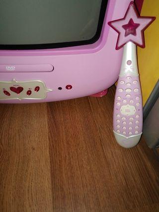 televisor combo princesa