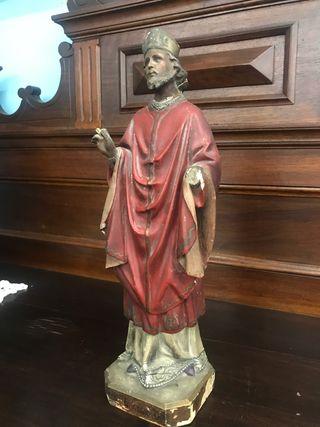 Imagen religiosa San Eugenio Olot