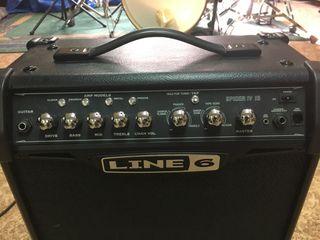 Amplificador guitarra Line 6