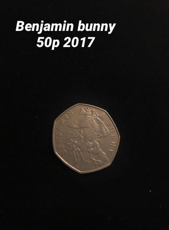 Benjamin bunny 50p 2017