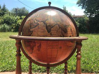 Mueble Bar globo terráqueo / bola del mundo
