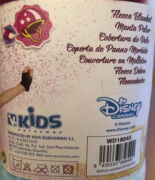 """Manta Polar """"SOY LUNA"""" Disney"""