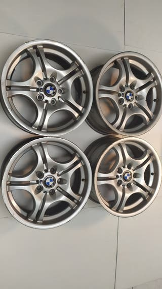 Llantas BMW 17 pulgadas doble medida originales