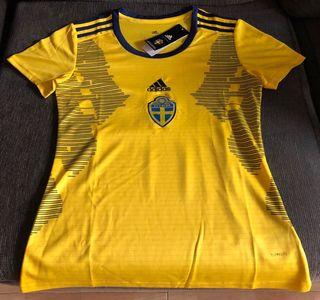 Camiseta Selección Fútbol Suecia femenina 2019