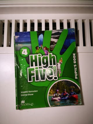 Libro inglés cuarto primaria