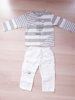 Cojunto niño de Bóboli 12 meses