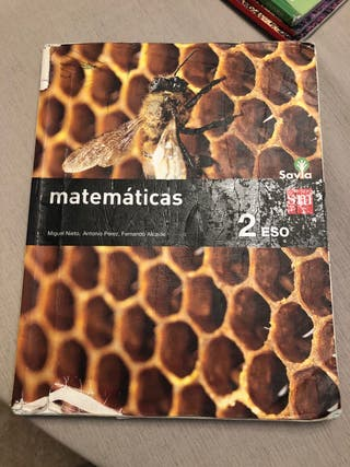 Libro de matemáticas 2 eso huerta salama