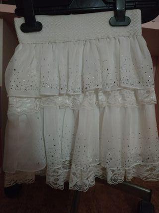 77ec09896 Falda blanca elástica de segunda mano en la provincia de Córdoba en ...