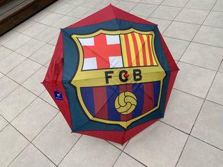 Paraguas del Barça para niño