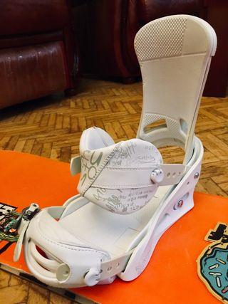Fijaciones snowboard Burton nuevas
