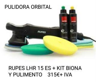 PULIDORA ORBITAL RUPES LHR 15 ES