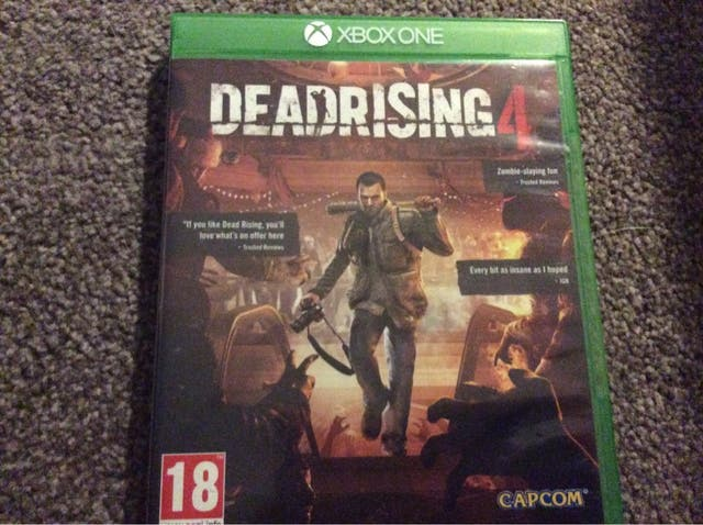 Dead rising 4 Xbox one GREAT CONDITION