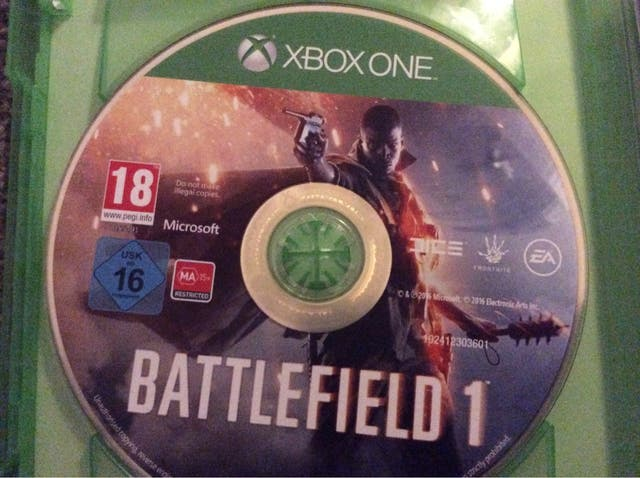 Battlefield 1 XBOX ONE GREAT CONDITION