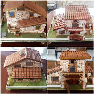Maquetas casas rurales