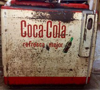 Coca-cola nevera botellero Coleccionistas