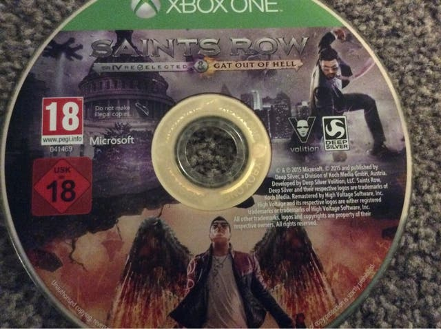 Saints row 4 re-elected and Gat out of Hell XBOX