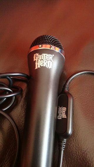micrófono guitar Hero original