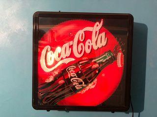 Cartel luminoso Coca-Cola bar