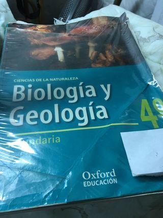 Libro biología y geología secundaria 4