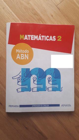 LIBRO MATEMATICAS ABN 2 PRIMARIA