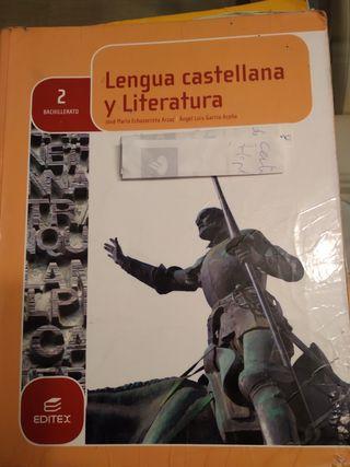libro lengua castellana y literatura 2º bachillera