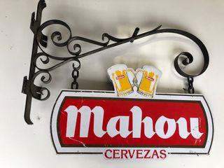 Cartel bar Mahou