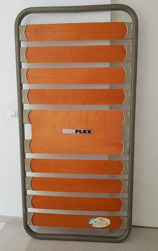 Cama flex y colchón 80×1,90