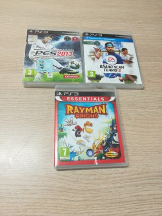 3 Juegos PS3